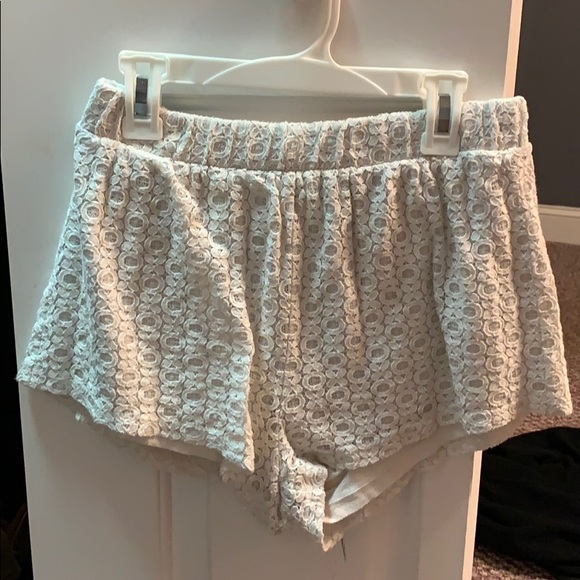 Forever 21 Pants - cute white flowy shorts